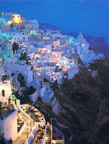 Santorini Clubs Cafes Bars Clubbing Nightlife Beach