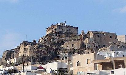 Santorini Akrotiri Castle Kasteli Koulas Castles Santorini